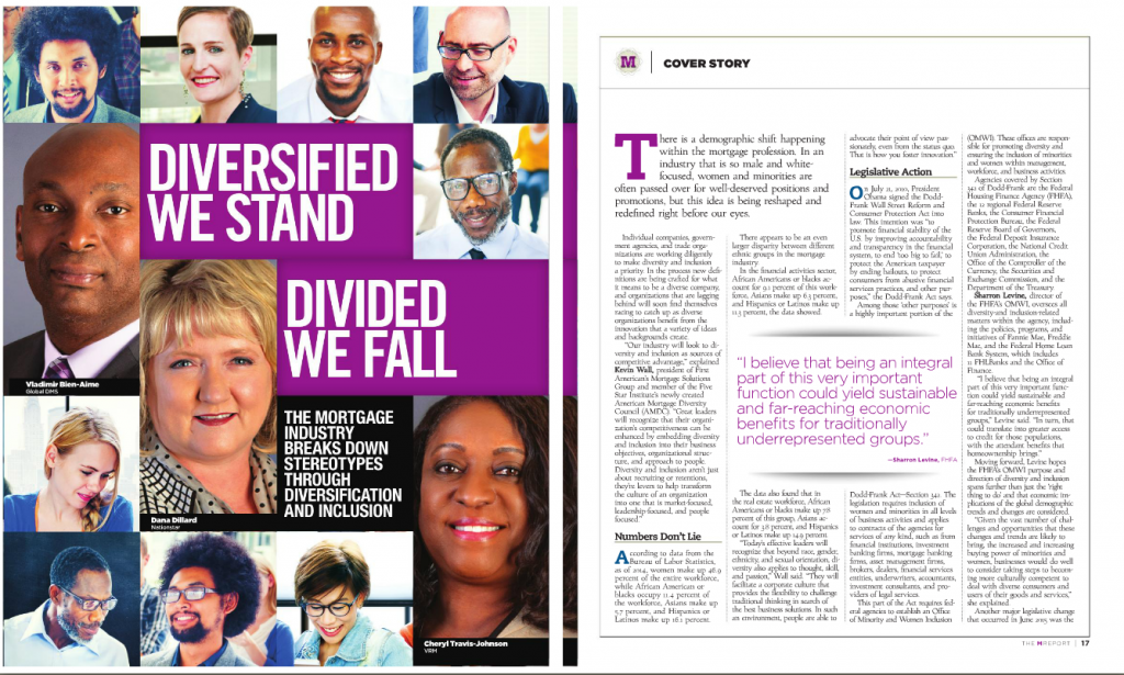 TheMReport Oct. 2015 Diversified We Stand Divided We Fall